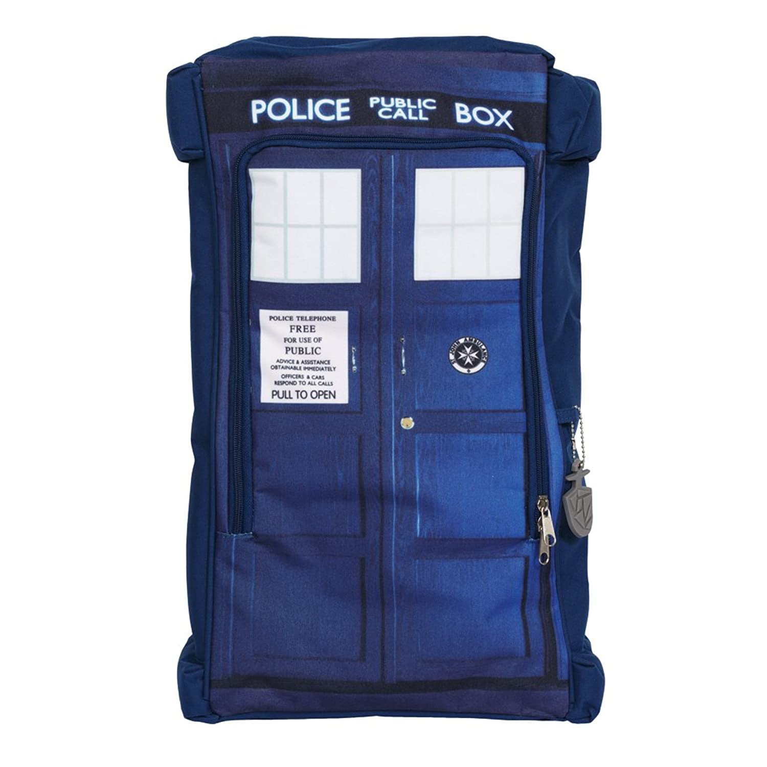 Doctor Who Tardis Blue Backpack School Bag