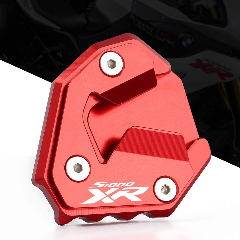 CXEPI Motorcycle Kickstand Pad Support for BMW S1000XR 2014-2019