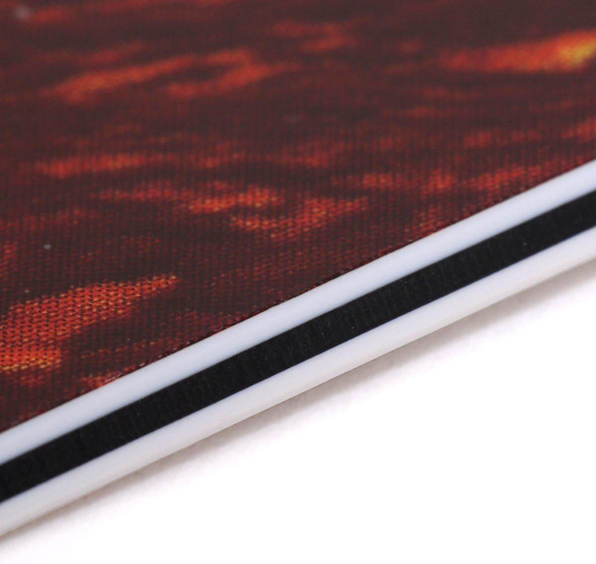4 strati Black Pearl Musiclily Pro 11 Fori Round Corner HSS Strat Battipenna Chitarra Pickguard per USA//Mexican Stratocaster con 4 Vite per Montaggio Humbucking Open Pickup