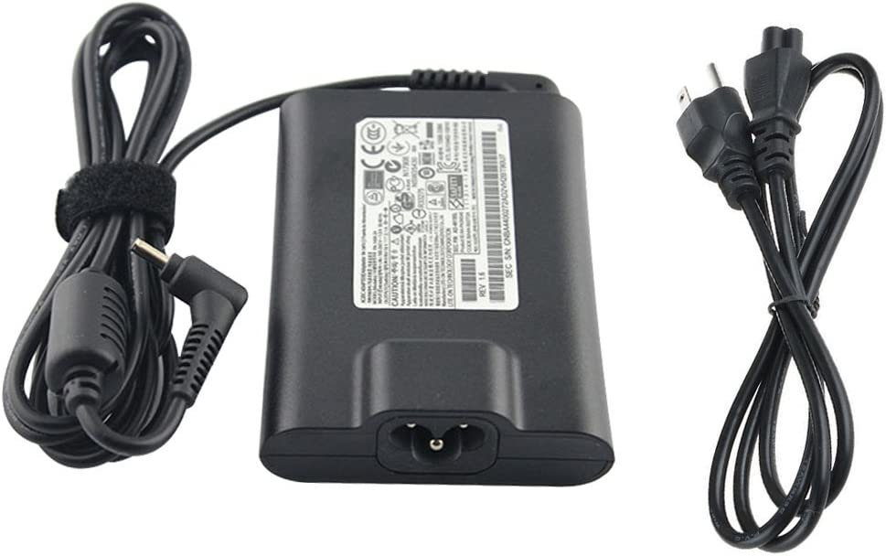 40W 19V 2.1A Slim Laptop AC Power Adapter Charger for Samsung Series 3 5 7 9 AD-4019SL NP305U1A NP530U3B NP535U3C NP535U4C Laptop Power-Supply Cord