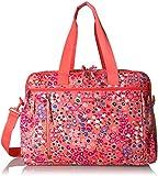 Vera Bradley Women's Lighten Up Weekender Travel Bag, Coral Meadow
