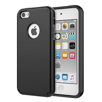 MoKo Funda para iPhone SE, iPhone 5, iPhone 5S, absorción de ...