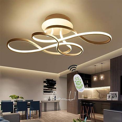 LED Deckenleuchte Wohnzimmerlampe Dimmbar mit Fernbedienung ...