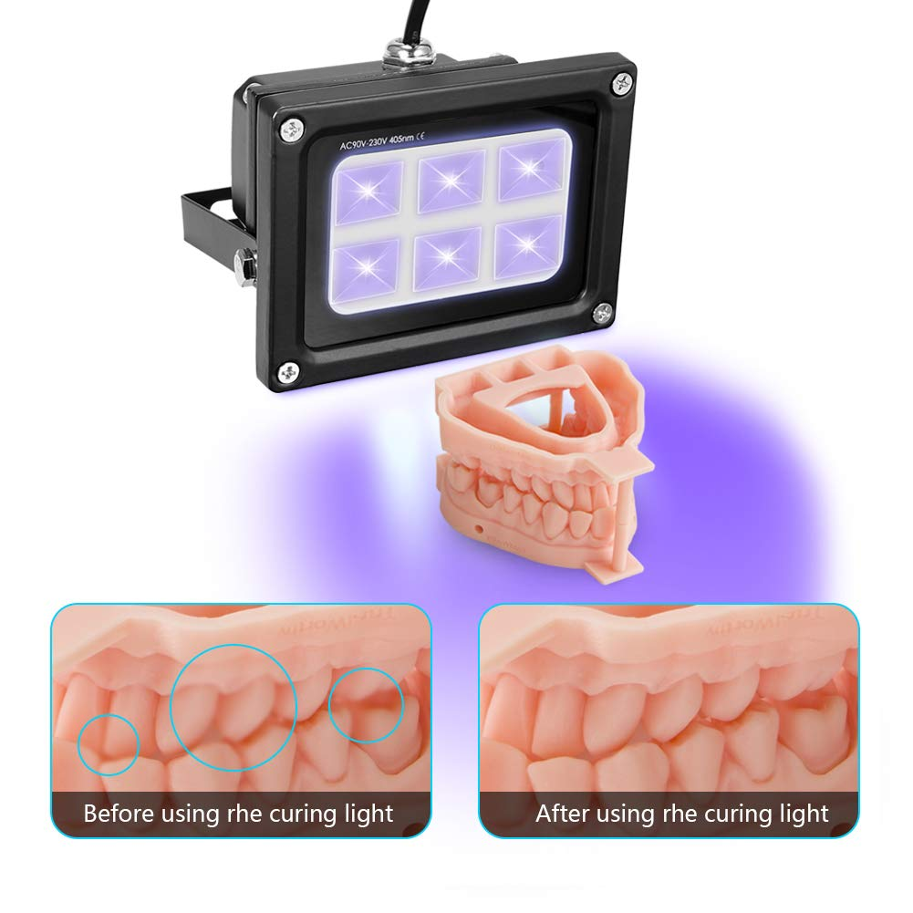 UV Resin 405nm LED Lampes /à polym/ériser pour SLA//DLP dimprimante 3D