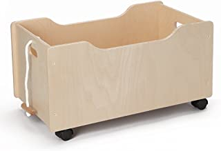 product image for Little Colorado Personalized Pull Cart, Unfinished