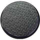 Padded Bucket Lid with Diamond Pad Black Frame/Black Pad