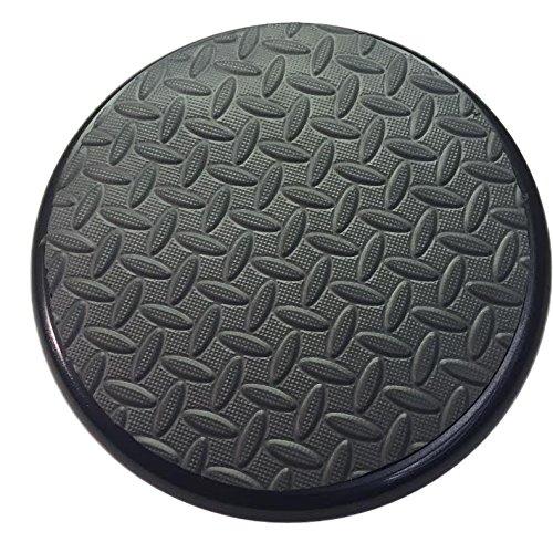 Padded Bucket Lid with Diamond Pad Frame/Black Pad--By Bucket Lidz