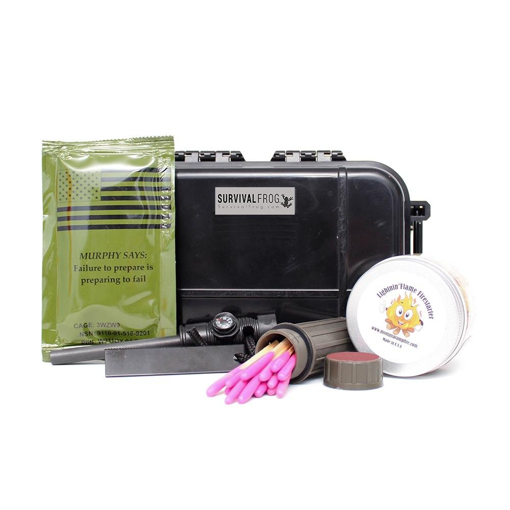 Survival Frog Stormproof Fire Starter Kit