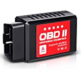 Audew Car WiFi OBD2 Scanner for iOS, Android and Windows Devices, Wireless OBDII Car Code Reader Scan Tool, Scanner…