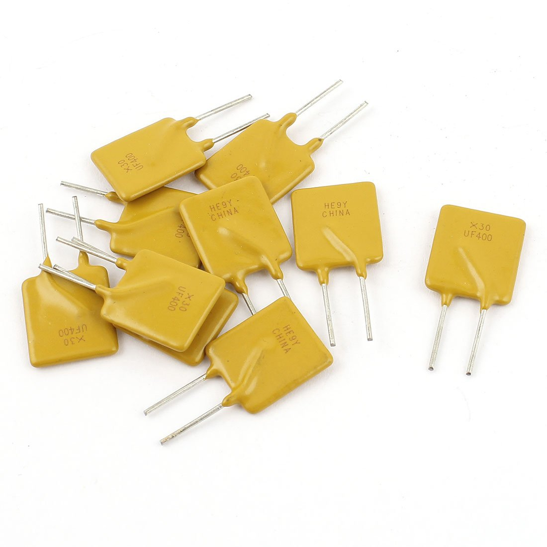 10 Pcs 30V 4A Resettable Fuse Radial Through Hole PPTC Polyswitch uxcell SYNCTEA009130