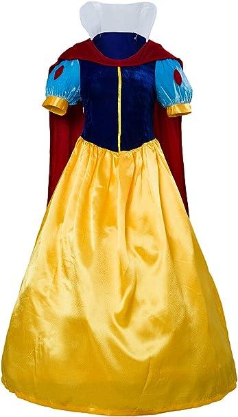 tianxinxishop Mujer Disfraz de Princesa Clasica para Halloween ...
