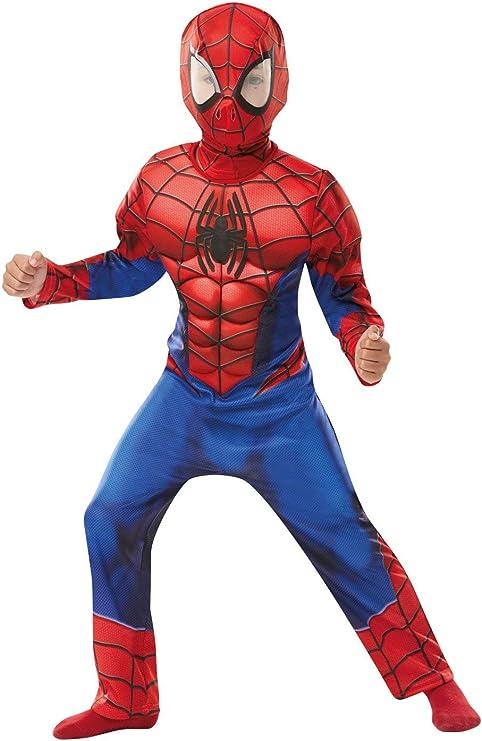 Rubies 640841L SPIDERMAN Marvel - Disfraz infantil de Spider-Man ...