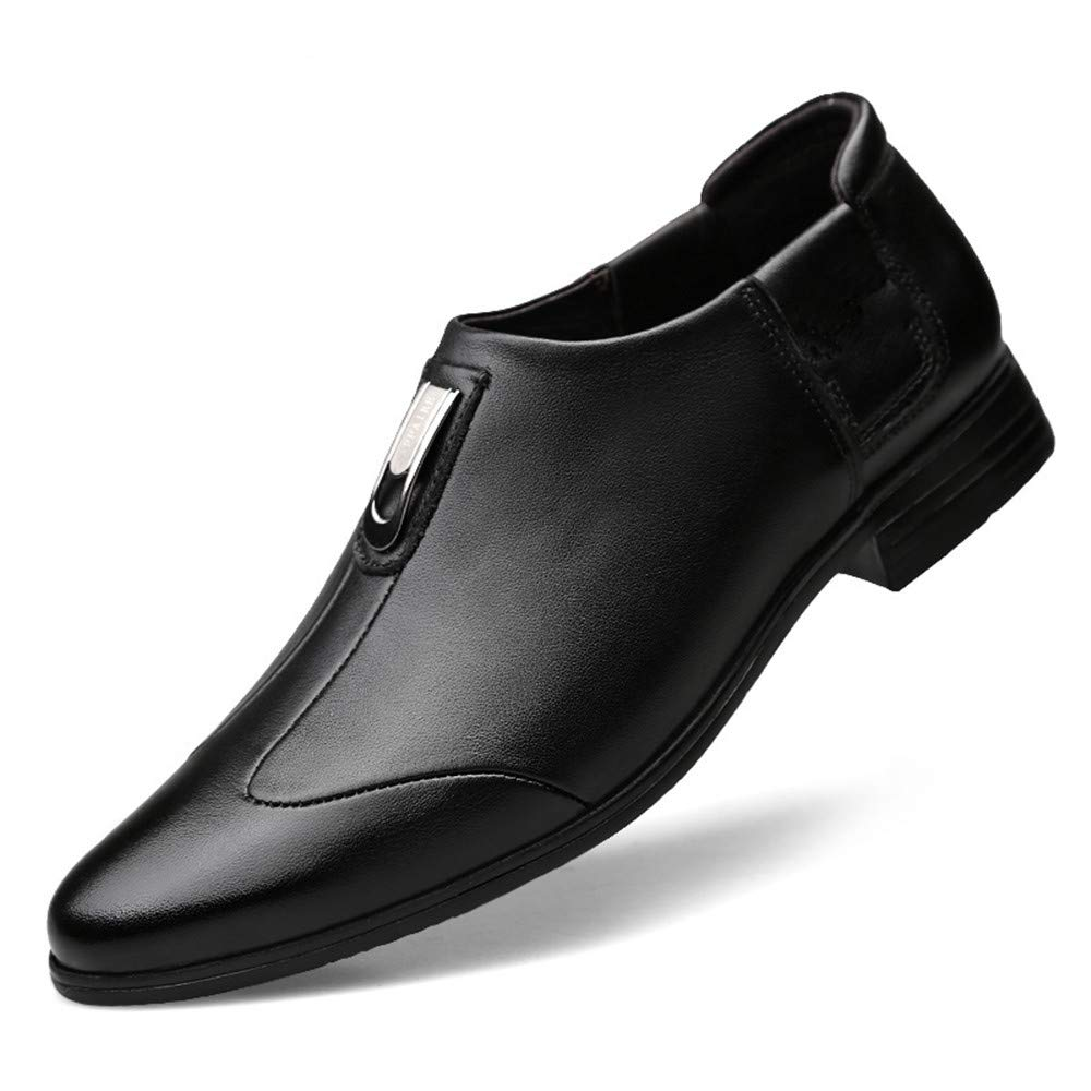 HILOTU Herren Business Oxfords Casual Simple Classic Formelle Formelle Formelle Schuhe (Farbe   Braun, Größe   38 EU)  88d62e