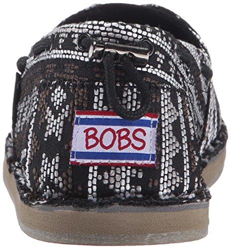 Bobs Van Skechers Dames Chill Slip-on Plat Zwart / Multi