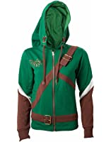 Official Womens Legend of Zelda Cosplay Link Costume Style Hoodie