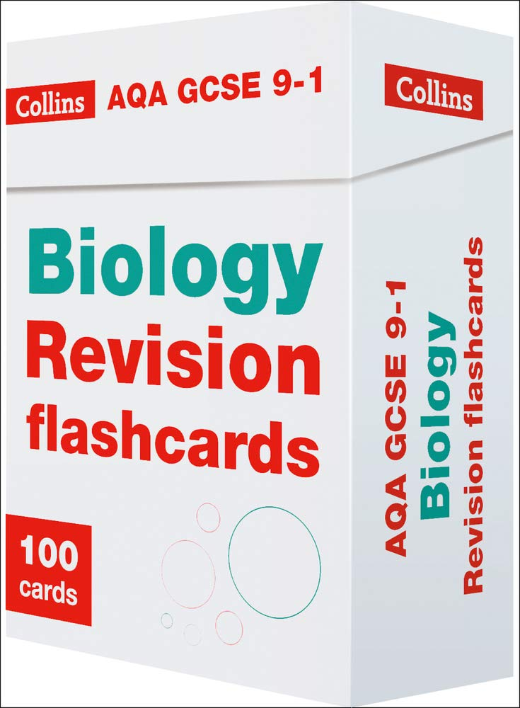 New AQA GCSE 9-1 Biology Revision Flashcards (Collins GCSE 9-1 Revision)