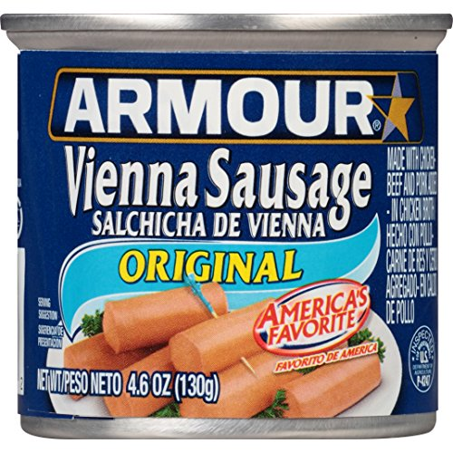 Armour Vienna Sausage, Original, 4.6 Ounce (Pack of 48)