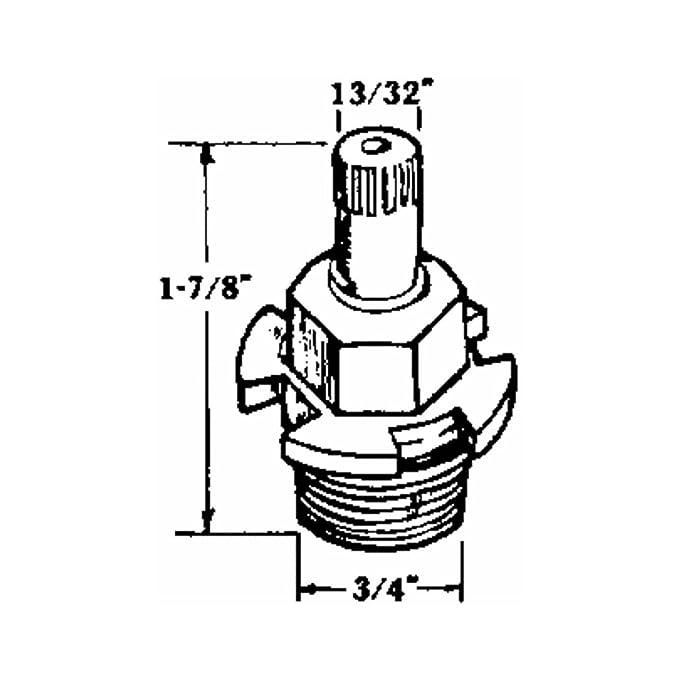 Keg Faucet Diagram