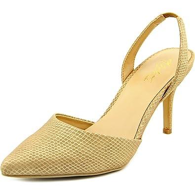 Thalia Sodi Womens Lola Pointed Toe SlingBack Classic Pumps Nude Size 8.0