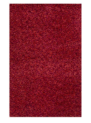 Jaipur Living Reina Shag Solid Red Area Rug (5' X 8') (Rug Anemone)