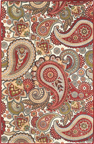 sweet-home-cream-paisley-design-area-rug-33x50-3-feet-3-inch-by-5-feet-0-inch-with-non-skid-non-slip