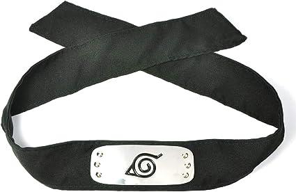 Amazon.com : Headband for Konoha Ninja Sasuke Uchiha Cosplay ...