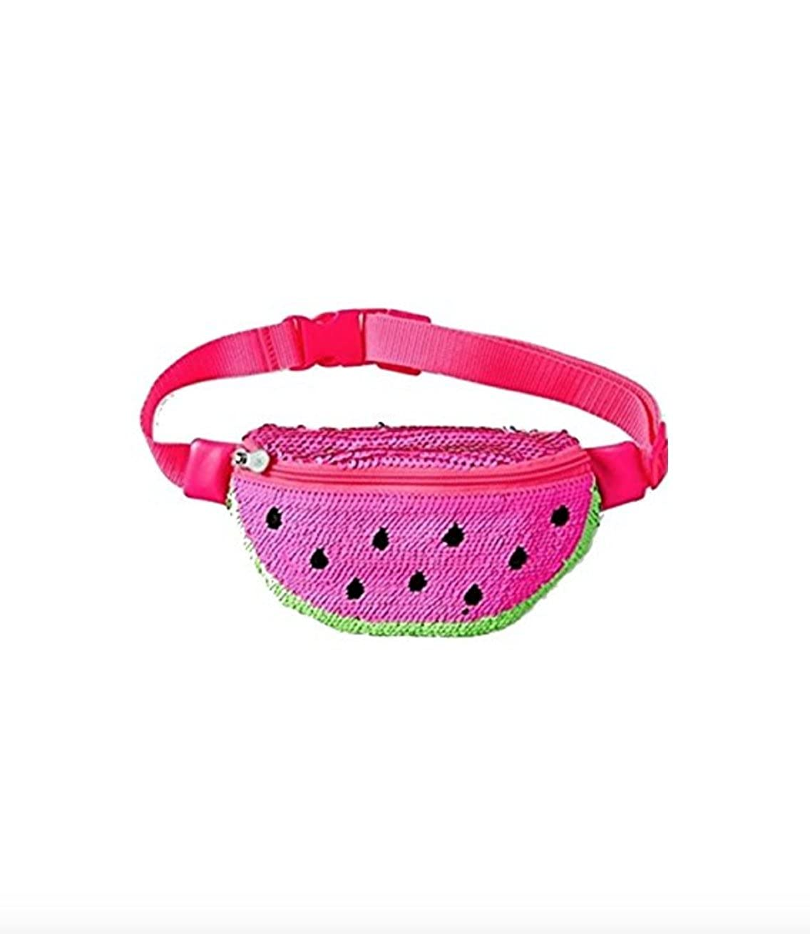Justice Fanny Pack Flip Sequin Watermelon