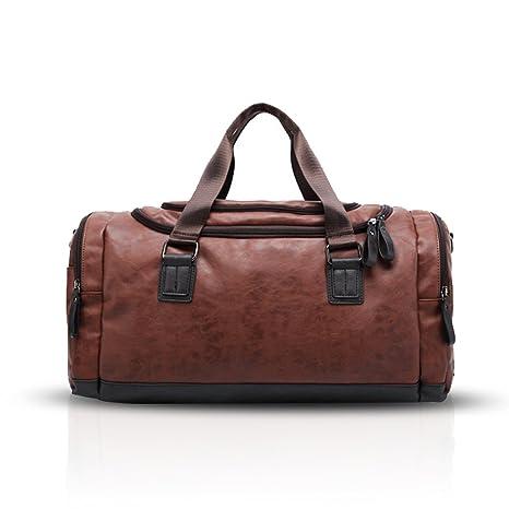 FANDARE Fashion Bolsa de Mano Hombre Mujer Bolsa de Viaje Outdoor Hiking Gym  Handbag Bolso 108802cc768f
