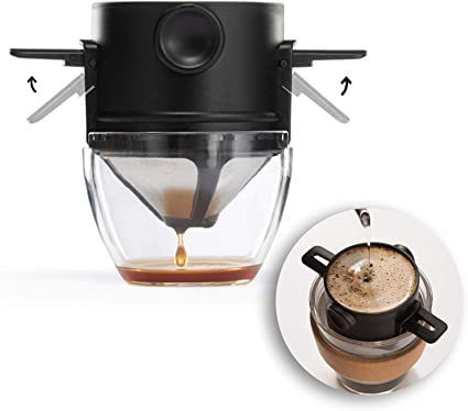 Stainless Steel Folding Coffee Drip Filter Stand Coffee Dripper Cookware