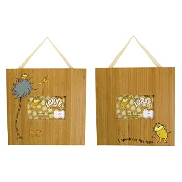 Amazon Dr Seuss The Lorax Picture Frames Set Of 2 115w X