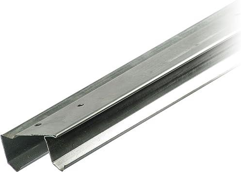 Stanley 46 – 3/8 Inch galvanizado doble puerta corredera pista: Amazon.es: Bricolaje y herramientas