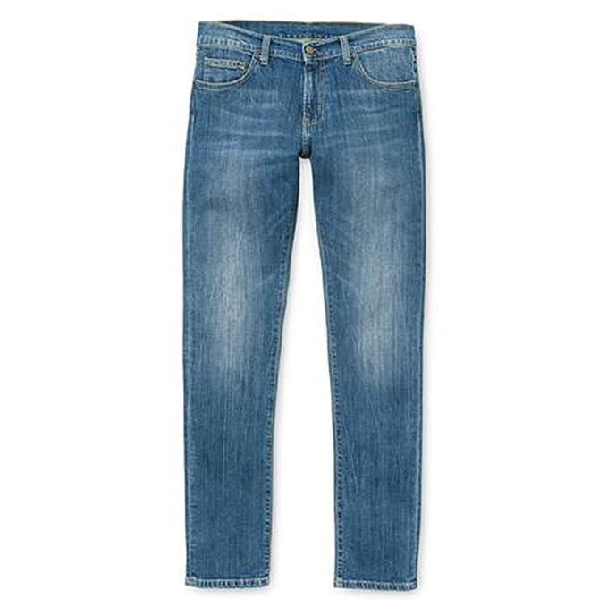 Carhartt Rebel Dock Wash - Hombre Tubo Jeans - Talla W32/L32 ...