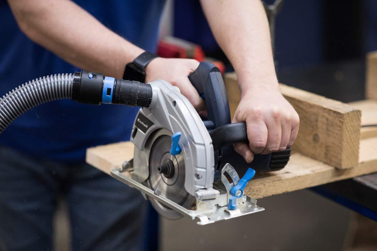Cen-Tec☛ Systems Tuyau pour aspirateurs domestiques et magasins avec adaptateur pour outil /électrique pour ramasser la poussi/ère argent