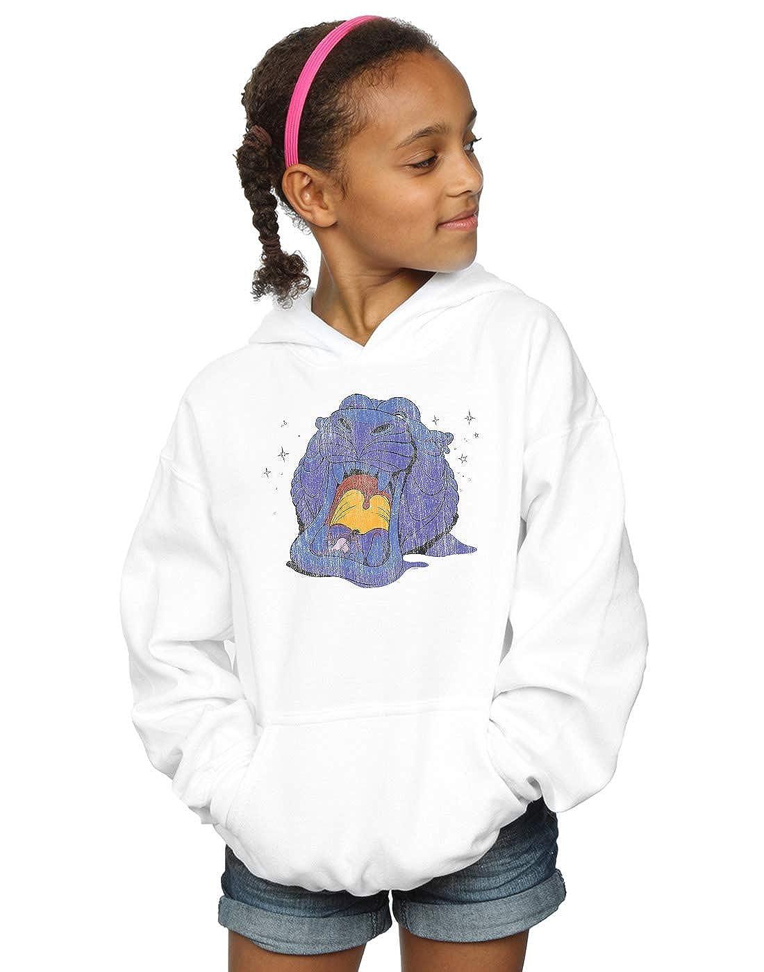 Disney Girls Aladdin Cave of Wonders Distressed Hoodie