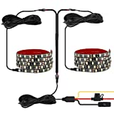 Leeleberd Truck Bed Lights Strip, 2PCS 60'' LED