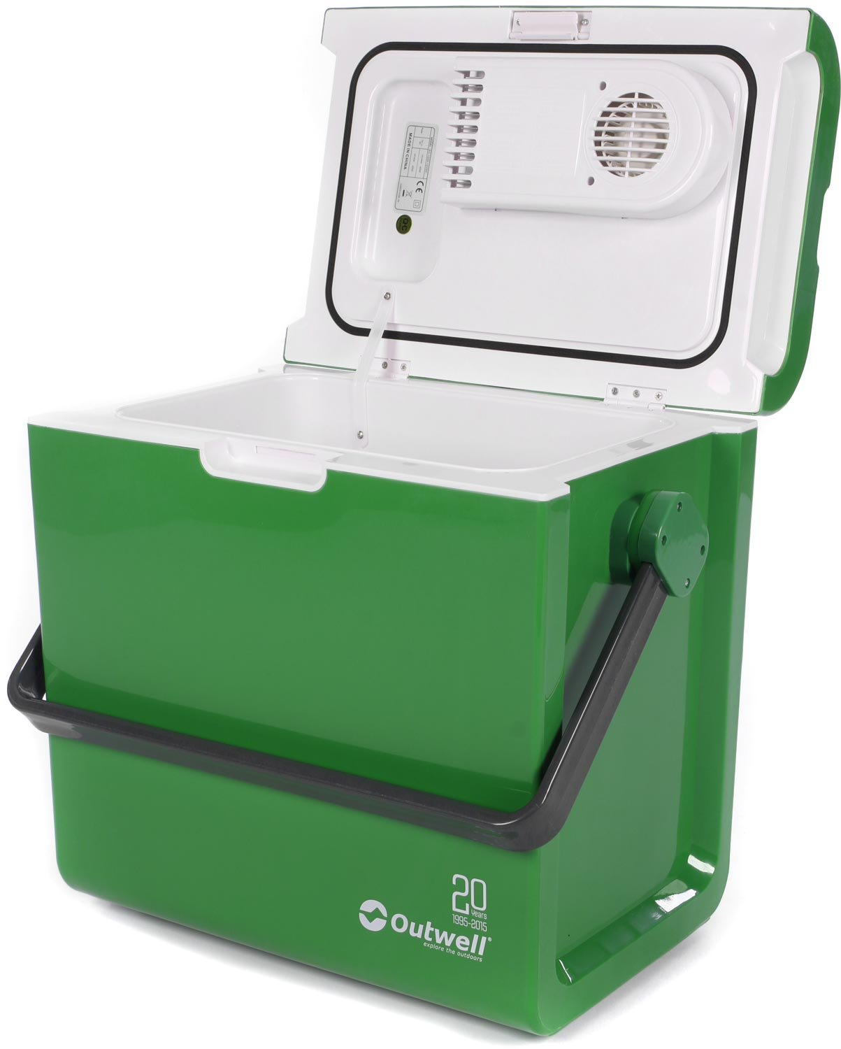 44783a8cdda Outwell ECOcool cool box 12v 24L green 2015 cooler  Amazon.co.uk  Garden    Outdoors
