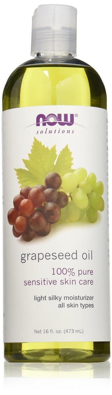 Now Foods Grape Seed Oil, 16 Ounce (48 oz)