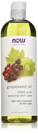 Now Foods Grape Seed Oil, 16 Ounce 48 oz