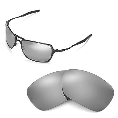 Walleva - Gafas de Sol - para Hombre Titanium Mirror Coated ...