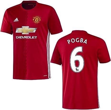 adidas 128 - Camiseta de la primera equipación del Manchester United