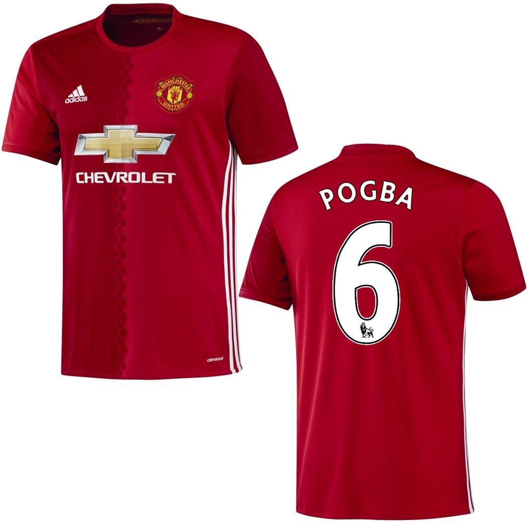 Trikot Adidas Manchester United 2016-2017 Home - Pogba 6 (128)