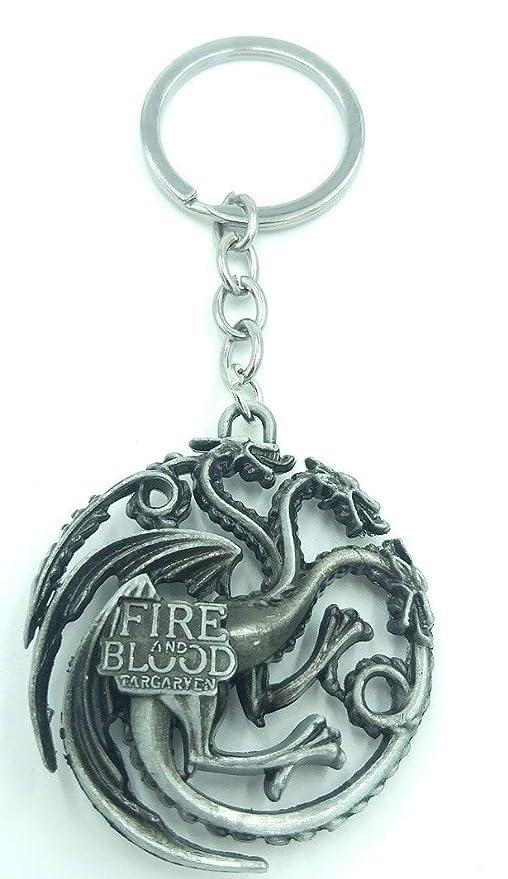 Llavero Targaryen de Fuego y Sangre, Estilo GOT, Llavero de ...