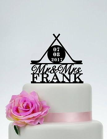 Hockey Wedding Cake Topper Wedding Cake Flavors