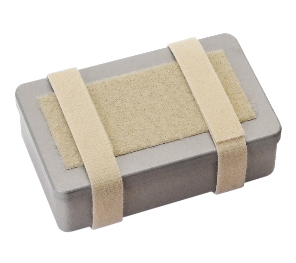 SUMA Container, Small - Anodized Aluminum Survival/First Aid Kit Box (Tan)