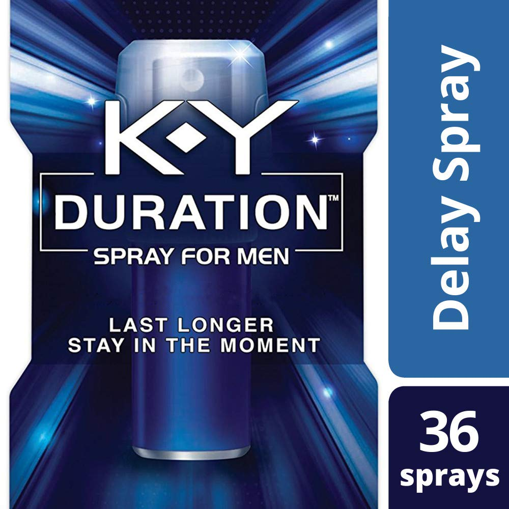 Amazon.com: K-Y Duration Spray for Men - Last Longer and Stay in the  Moment, 36 sprays / 0.16 fl oz: Health & Personal Care