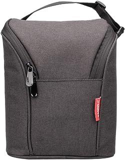 LHY TRAVEL Bolsa de Momia portátil pequeña Bolsa de lonchera Impermeable de Tela Oxford Bolsa de Almuerzo compacta y Liviana, B