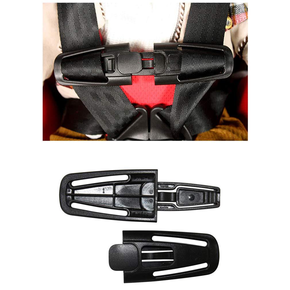 Lefu Paquete de 4 Seguridad para el autom/óvil Correa del cintur/ón de Seguridad Cierre con Hebilla para los ni/ños beb/és /Útil