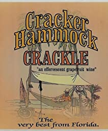 NV Florida Orange Groves Cracker Hammock Crackle Sparkling Florida Grapefruit Wine 750 mL