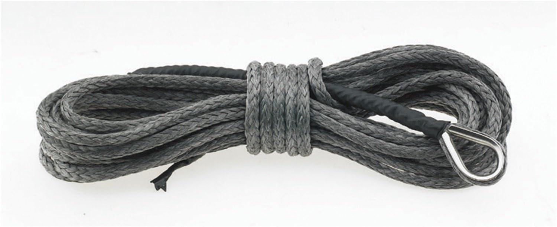 Capacity 4000 lbs Smittybilt 97704 19//64 x 30 Synthetic Winch Rope
