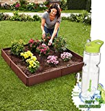 Gift Included- Adjustable Gardening Panels Raised Garden Bed Set + FREE Bonus Water Bottle byHomecricket